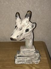 Drifwood Carved Wood Giraffe Ornament Figure