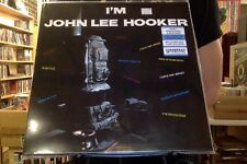 I'm John Lee Hooker LP sealed 180 gm vinyl + mp3 download RE reissue