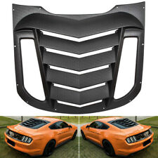 Rear Window Louver Sun Shade Visor Vent GT Lambo Fastback Style For Ford Mustang