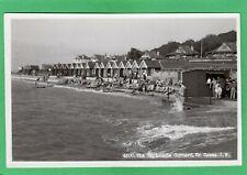 More details for esplanade gurnard nr cowes beach huts iow rp pc 1948 nigh ad974