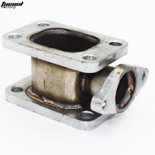 T3-T3 TURBO MANIFOLD ADAPTER+38MM WASTEGATE FLANGE OUTLET Stainless steel