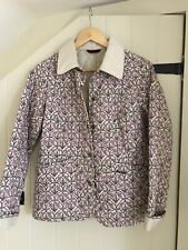 Barbour Jacket x John Lewis Limited Edition Floral Jacket UK 10/Medium