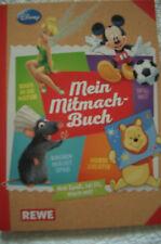 Mein Mitmach - Buch, neues REWE Sammelalbum mit allen 180 Stickern (eingeklebt)
