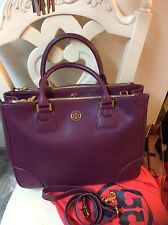 Tory Burch Double Zip Robinson tote Brand New