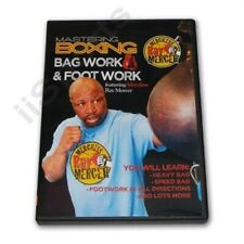 Mastering Boxing Combinations Mma Punching Bag Foot Work Dvd Ray Mercer Rs 0656