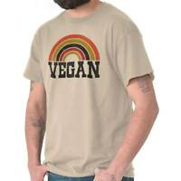 Vegan Veggie Healthy Lifestyle Vegetarian Short Sleeve T-Shirt Tees Tshirts
