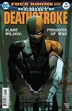 Deathstroke #9 2017 Slade Wilson Prisoner Of War New 1