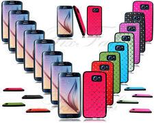 Étuis, housses et coques noirs Samsung Galaxy S6 en silicone, caoutchouc, gel pour téléphone mobile et assistant personnel (PDA)