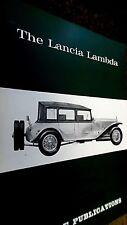 PROFILE PUBLICATIONS CAR #44: THE LANCIA LAMBDA (1967)
