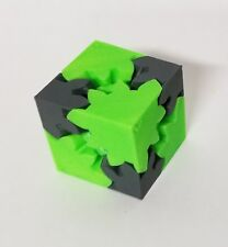 3D Printed Gear Cube - coarse tooth
