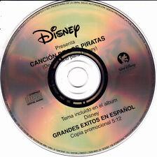 MECANO - CANCION DE LOS PIRATAS - DISNEY CD SINGLE PROMO NO COVER 1998 SPAIN