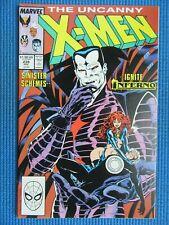 UNCANNY X-MEN # 239 - (VF/NM) -MR SINISTER,INFERNO,WOLVERINE,STORM,CYCLOPS,ANGEL