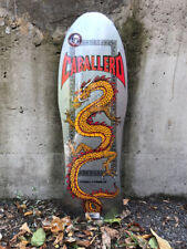 Old School Powell Peralta Caballero Chinese Dragon Reissu Skateboard Deck Silver