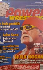Power Wrestling 9/2005 WWE WWF TNA + 2 Poster (Summerslam, Rey Mysterio)