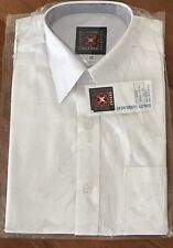 aa07c6e959f263 NEW Girl Short sleeve School Formal shirt WHITE size 12