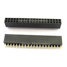 5pcs 2.54mm 2x20 Pin Double Row Female Pin Header
