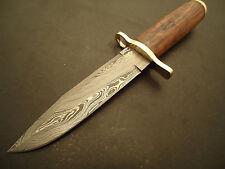 "Pioneer Custom Made Damascus Steel Hunting Knife With Walnut Wood, 11"" Pt-2331"