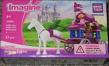 Carriage Imagine BricTek Building Block Construction Toy Brick Girl Brik Tek