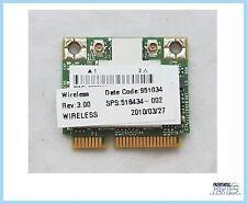 Modulo de Wi-Fi Hp Mini 5102 Hp ProBook 4310s Wi-Fi Module 518434-002