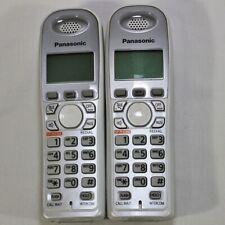 x2 Panasonic KX-TGA630S Expansion Handset Cordless Telephone (No Batteries)