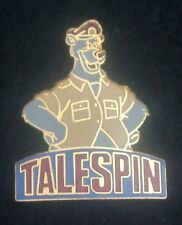 DISNEY AFTERNOON TAILSPIN BALOO AS A PILOT PIN FROM THE EARLY 1990'S, RARE