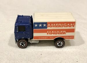 1976 Hot Wheels Redline Flying Colors American Hauler Box Truck