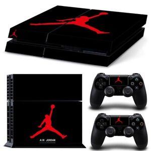 NBA Air Jordan Decal Skin Vinyl New Sticker PS4 Controller PlayStation 4 Console