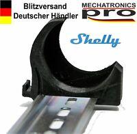 horizontal Shelly 1 1PM Hutschienenhalter DIN Rail bracket // Wandhalterung