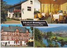 Postcard Hotel Ruttgers Luftkurort Nassau/Lahn Germany MINT