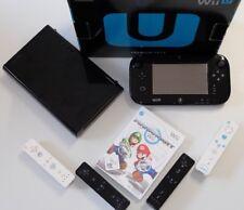 Nintendo Wii U Konsole 32 GB Konsolen Set & Mario Kart Wii & 4 Remote Controller