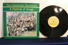 The Cameroon Choristers, A Festival Of Songs, DMI 51532, West Africa, Religious