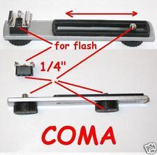 Staffa x flash Metz Sunpak Nikon,ecc. altri accessori con aggancio slitta- 2535