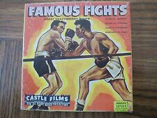 FAMOUS FIGHTS - GREAT LIGHTWEIGHT BOUTS - CASTLE FILMS - No. 3010