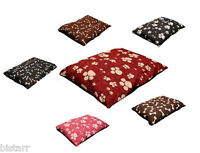 LARGE BIG DOG BED WITH FILLED INNER PET PAD CUSHION WITH ZIPPED COVER