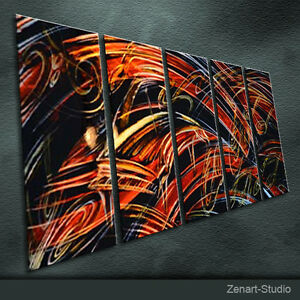 Original Handmade Metal Art Modern Abstract Special Indoor Outdoor Decor-Zenart
