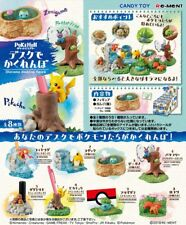 Re-Ment Miniature PokeMon Pikachu Diorama Desktop Figure Full Set 8 pieces
