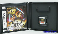 Star Wars  The Clone Wars - Republic Heroes Nintendo DS 2009 COMPLETE