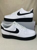Nike Air Force 1 07 Low White Black CK7663-101 Mens Shoes Size 13
