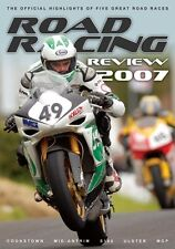 Road Racing Official Review 2007 (New DVD) Ulster GP Manx GP Cookstown 100