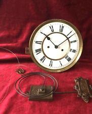 Quality German Lenzkirch Double Weight Clock Movement & Gong