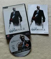 Hitman 2 - Silent Assassin (PC-CD-ROM, 2002, DVD-Box) USK 18