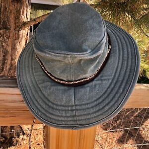 Unisex Vintage NORDIC GEAR Sun / Hiking Hat - M/L - Made in USA - Same Day Ship!