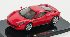 Ferrari 458 Italia Red 2010 P9953 1/43 Hot Wheels Elite
