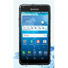 New Kyocera Hydro View Black 4G LTE Waterproof Android GSM Unlocked Smartphone