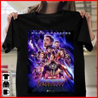 Avengers 4 EndGame Marvel Movie 2019 T-Shirt Men Women Unisex Tee All Size S-3XL