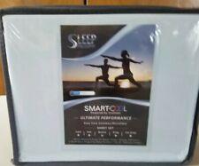 Sleep Philosophy CoolMax Sheet Set - Aqua Smart Cool Microfiber - Queen