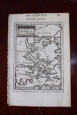 ✒ 1683 MANESSON MALLET Iles archipel EUROPE Mer Egée Ile de crête Grèce Turquie