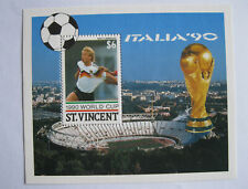 ST. VINCENT - 1990 WORLD CUP ITALIA '90 - WEST GERMANY - $6
