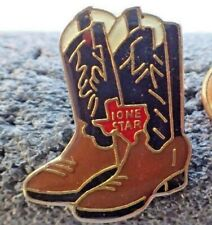 Lone Star Beer Cowboy Boots Pin
