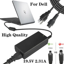 Dell Inspiron 13 14 15 17 45W Laptop Charger AC/DC Power Adapter 19.5V 2.31A